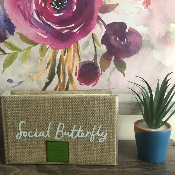 Kate Spade Photo Album Social Butterfly
